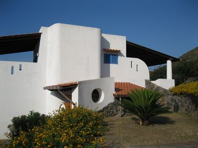 Photo for Villa Liliana: 2 + 2 sleeps, panoramic view, 200 mt. from the sea.