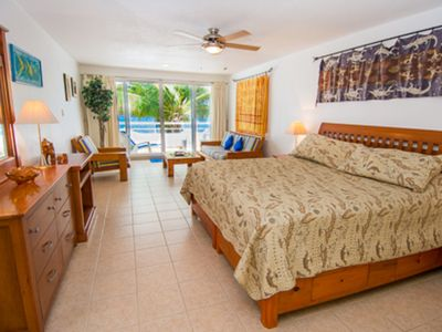 Photo for Miramar #204, cozy Oceanfront 1 bdrm condo, 2 miles north of town!!