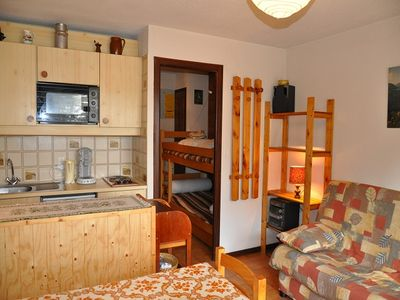 Photo for Apartment No. 17 located on the 2nd floor of the residence. Studio 4 beds of 21,84 m2. Entrance hall