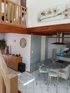 Photo for In detached house Independent apartment 80 m duplex