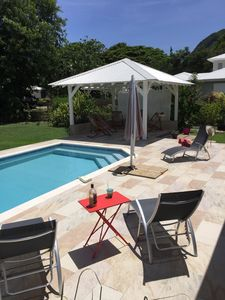 Photo for Beautiful villa with pool, private sea access and large garden - Villa Vetiver