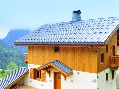 Photo for Luxury Chalet in Champagny-en-Vanoise with Mountain View