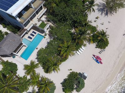 5-Bedroom, Architectural Masterpiece on a Secluded Beach