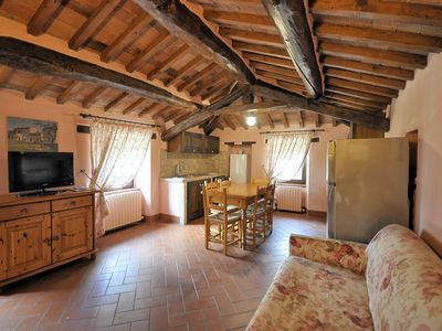 Photo for 2 bedroom Apartment, sleeps 6 in Corgna with Pool and WiFi