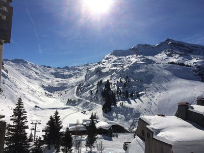 Photo for App 3 rooms - 2 chbrs / 40m² - ski-in ski-out - calm - cozy