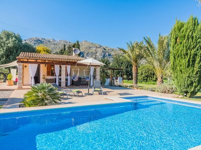 Photo for One bedroom Villa, sleeps 3 in Pollença with Pool and WiFi