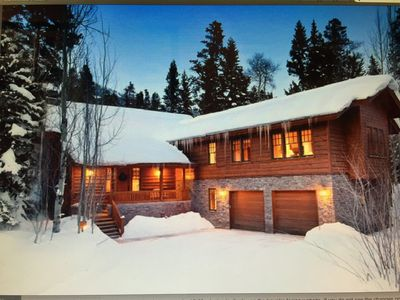 Photo for Magnificent Mountain Retreat Adjacent To  Lift And Village