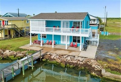 The Miller Home Four Bedroom Four Bath Private Fishing Pier Port Mansfield