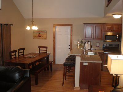 Photo for GREAT SPECIALS IN CABIN ON THE POND IN BRIDGES BAY!