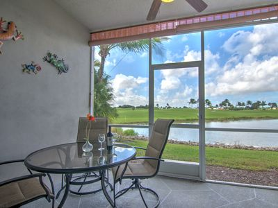 Photo for *First Floor Villa in Greenlinks of Lely Resort -Relax Poolside or on the Lanai*
