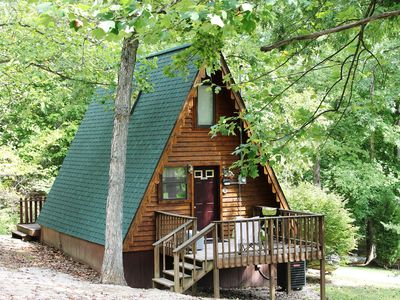 Photo for Cedar A Frame Chalet Cabin 3 located on Patoka Lake in Southen Indiana