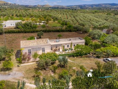 Photo for In the Sicilian countryside, air conditioning, design structure, old renovated farmhouse