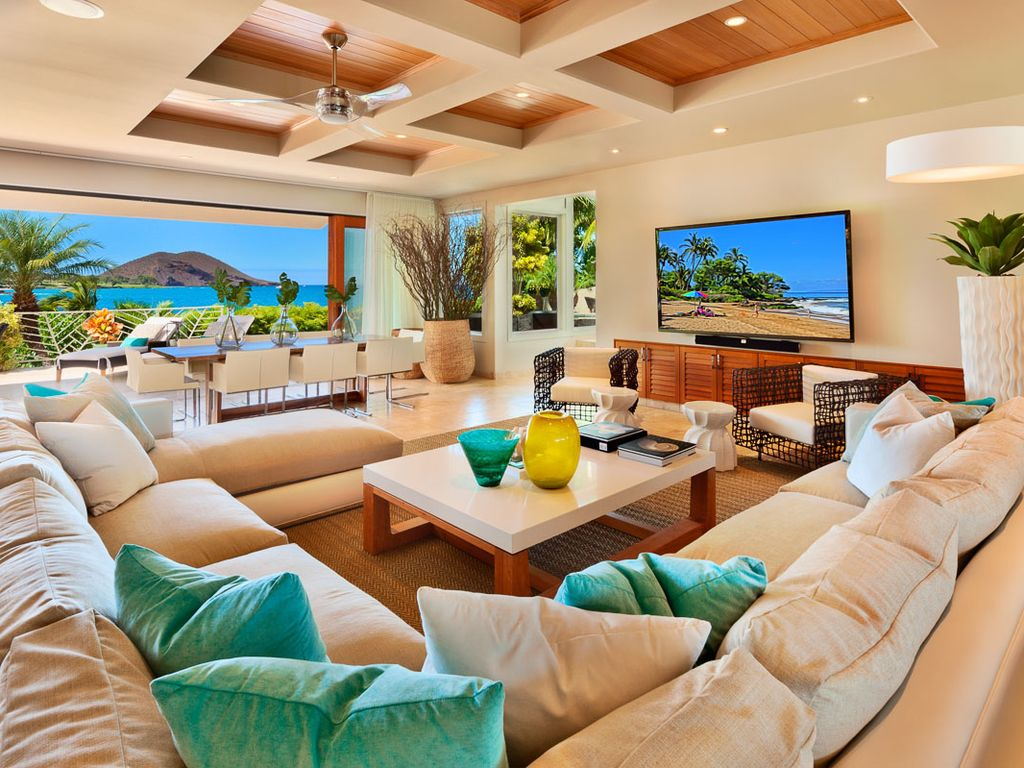 Relax In Style And Comfort At Hale Makena HomeAway Wailea - Luxury homes in maui