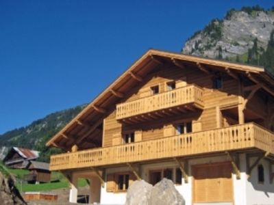 Photo for Luxury Chalet with Lovely Mountain Views