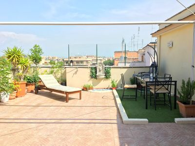 Photo for Exclusive penthouse with garden terrace in Vatican