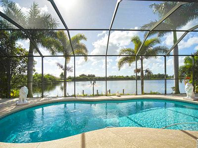 Photo for Villa at lakefront with salt water pool for dreaming, south side - Wifi Internet