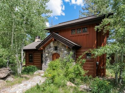 Photo for Pet Friendly Tamarack Resort Cottage w/ Outdoor Hot Tub, BBQ & Mountain Views