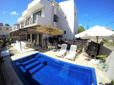 Photo for Cozy Beach Apartment # 2 Pereybere Grand baie
