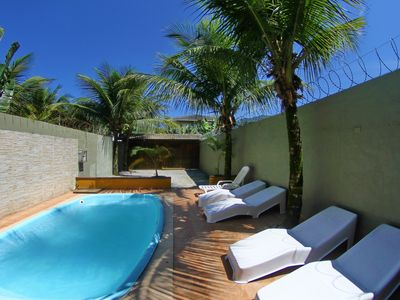 Photo for NEW SOBRADO IN THE BEST NEIGHBORHOOD OF MARESIAS, 700M FROM THE BEACH, PRIVATE SWIMMING POOL