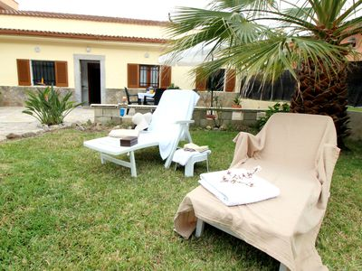 Photo for SPECIAL OFFER: MAY and JUNE! House 350 meters from the beach in Port Alcudia