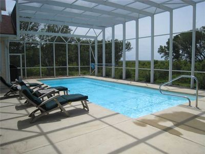 Photo for Currituck Club 322: Wonderful single level home with enclosed lanai, private pool and hot tub.