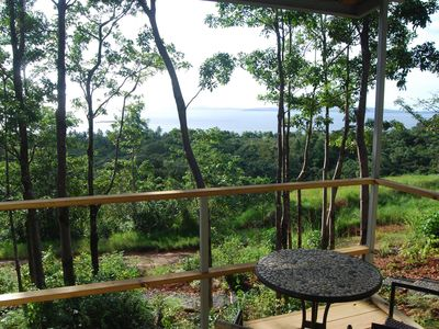 Photo for Comfortable, modern  jungle retreat with a miraculous view