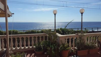 Photo for Pilar house with terace and sea view