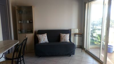 Photo for Seasonal rental. F2, independent, in villa, Carnoux in Provence.