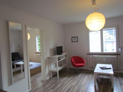 Photo for Apartment with 1 bedroom and 1 living and dining room