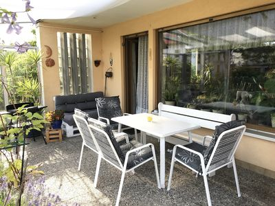 Photo for Cozy home with patio and garden