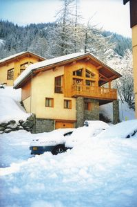 Photo for Superb self catered ski Chalet in Tignes-les-Brevieres 50m from lift
