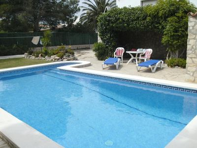 Photo for Holiday house L'Ametlla de Mar for 1 - 7 persons with 4 bedrooms - Holiday house
