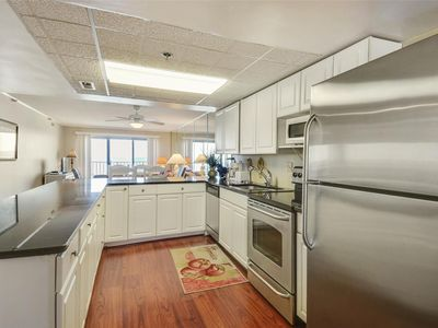 Photo for FREE DAILY ACTIVITIES! Direct Oceanfront updated, 2 bedroom, 2 bath, with open den condo.
