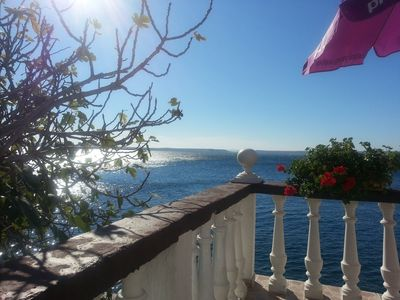 Photo for Holiday apartment with air conditioning directly at the sea