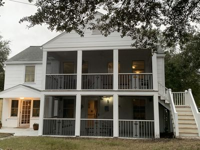 Photo for Cozy Beach House - So Close to Beach with Pool - 200 Yards to Bch. Sleeps 15