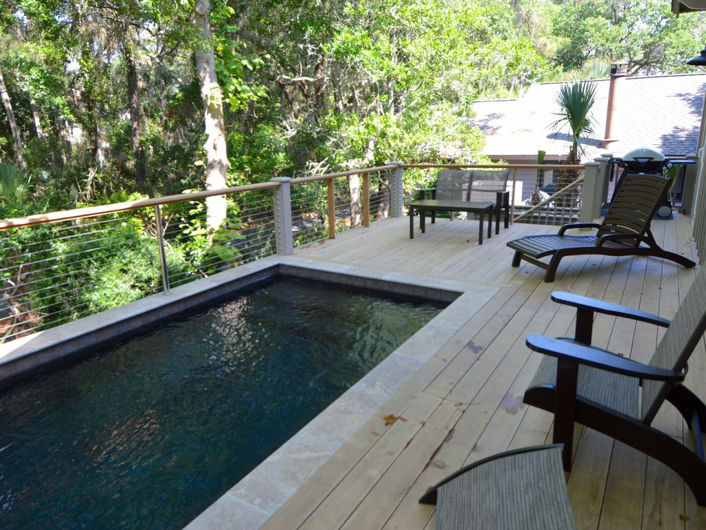 Perfect kiawah house new construction steps to beach w for New house construction steps