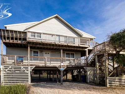Photo for Near The Edge | 95 ft from the beach | Dog Friendly, Community Pool