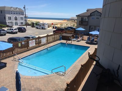 Photo for Ocean Front Beach Haven NJ, beautiful decor, pool and close to everything!