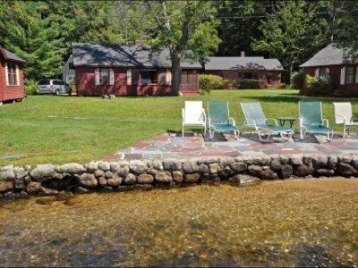 Photo for Winnipesaukee Waterfront Cottage, Gorgeous Views, Quaint and Quiet