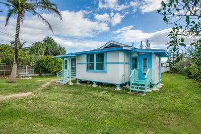 Beach Bungalow In Laie With Ac