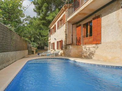 Photo for Villa March Cala is conveniently located in the residential area of Cala San Vicente, just a pleasant stroll from this laid back resorts' three beaches and a good selection of bars and restaurants.
