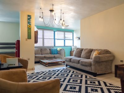 Photo for Remodeled Apartment steps to the Placita of Santurce, best downtown in the area.
