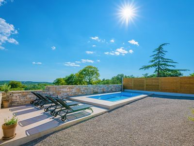 Photo for New: Stone house for 6 persons with pool at the Lim fjord