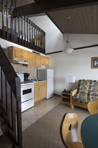 Photo for Rocky Mountain Ski Lodge - One Bedroom Loft Apartment