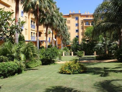 Photo for Apartment with gardens, swimming pools and magnificent views. Very equipped