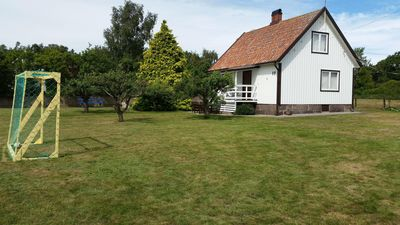 Photo for Family friendly and comfortable house close to the sea in Sweden's sunniest location