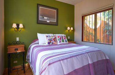 Photo for Light-filled and artsy casita with a private patio near Centro