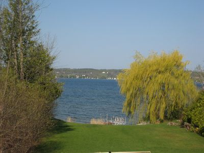 Photo for Private beach access on Lake Leelanau