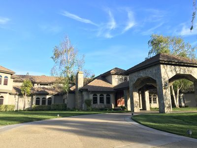 Photo for A Beautiful Estate/Ranch With Vineyard And Horse Facility