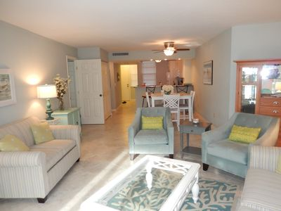 Photo for Marco Island Beachfront Condo Free WiFi Newly Renovated